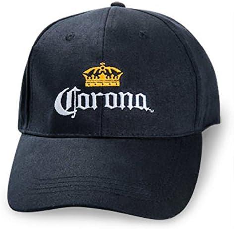 Corona Extra Baseball Hat Black