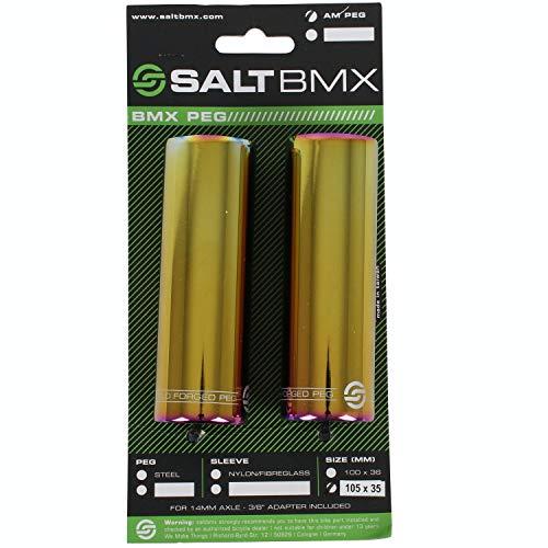 Salt AM PRO BMX Acciaio Peg (Oilslick)