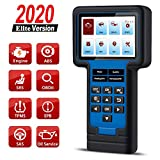 thinkcar TS601 OBD2 Scanner ThinkScan 601 Code Reader Car Diagnostic Tool for Engine ABS SRS Systems with Oil EPB SAS TPMS Reset, Live Data Stream Graph,Lifetime Free Update