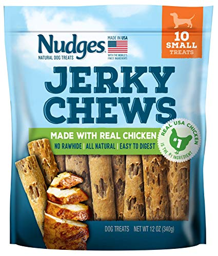 Nudges Chicken Jerky Chews for Small Dogs, 12 Ounce