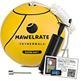MAWELRATE Tetherball Ball and Rope Set – Perfect Outdoor Game...
