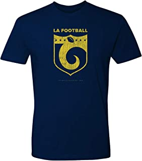 36 and Oh! Rams Shield Football T Shirt Mens Short Sleeve - Soft Style