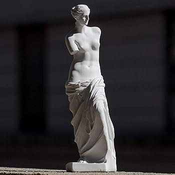 CBAM Scultura Venere di Milo in Polvere di Marmo Marble Powder Venus Sculpture H.17CM
