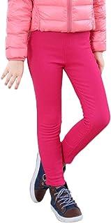 Shaoyao, Niña Leggings Elástico Pantalones Plus Espesamiento Leggins