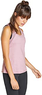 Rockwear Activewear Women's Marathon Mesh Singlet Bonbon 14 from Size 4-18 for Singlets Tops