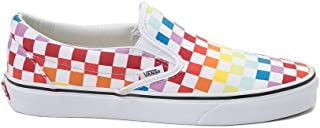 Unisex Slip On Rainbow Chex Skate Shoe Sneaker