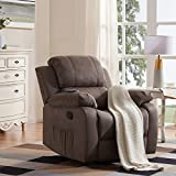 Merax Electric Recliner Chair Lazy Boy Sofa for Elderly, Office or Living Room, Gray
