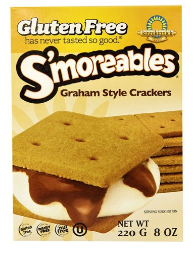 Kinnikinnick S'moreables Graham Style Crackers Gluten Free -- 8 oz - 2 pc