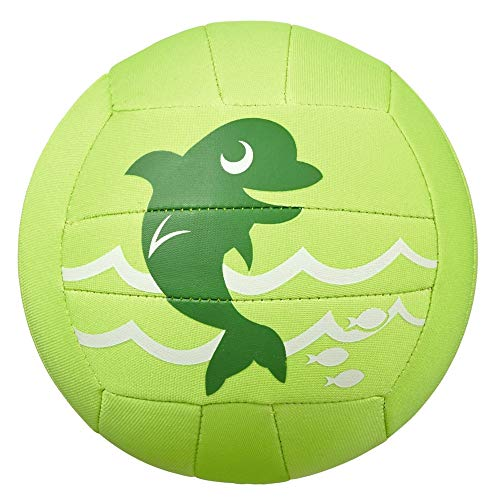Beco Unisex Jugend Sealife Neoprenball, grün, STK