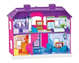 SKYLER COLLECTION My Country Doll House Play Sets with Living Room , Bed