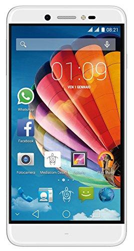 Mediacom M-PPAS532L PhonePad, Dual SIM, 16 GB, Argento