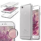 Urcover Funda Apple iPhone 6 Plus / 6s Plus, Carcasa Protectora 360 Grados Silicona Gel en Transparente Full Body Protección Completa Delantera + Trasera, Apple iPhone 6 Plus / 6s Plus - Transparente