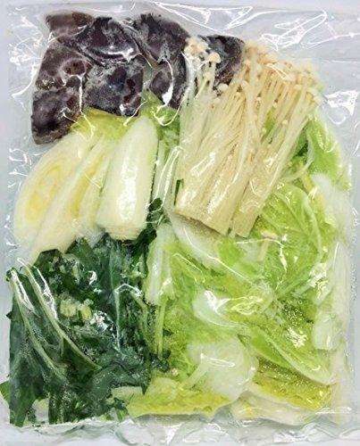 冷凍野菜ミックス(お鍋用) 国産(徳島、岡山産など) 240g(二人前) 冷凍野菜 【消費税込み】
