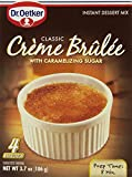 Dr. Oetker, Creme Brulee Mix, 4 Servings, 3.7oz (Pack of 3)