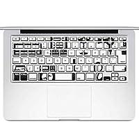 igsticker MacBook Air 13inch 2010 ~ 2017 専用 キーボード用スキンシール キートップ ステッカー A1466 A1369 Apple マックブック エア ノートパソコン アクセサリー 保護 013731 イラスト 家電