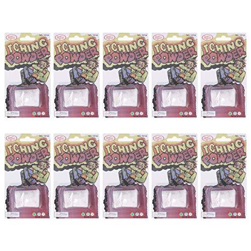 PRETYZOOM Pet Spray Démangeaisons Poudre Liquide Cul-10Pcs Poudre de Démangeaison Gag Blague Sûr Drôle Farce Prop Truc Prop Gag Cadeau pour Blague Surprise Poisson D'avril Jour