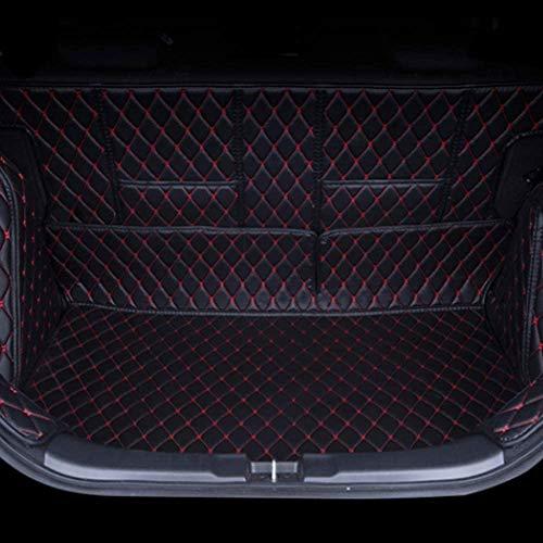 DANHUI Kofferraummatte, Auto-Kofferraummatte, for Jaguar F Pace XE XF XJ XJ6, einfach dekontaminieren wasserdicht und Anti-Rutsch-Auto Kofferraummatte Cargo-Liner ect Autozubehör Modell Farbe: Lila