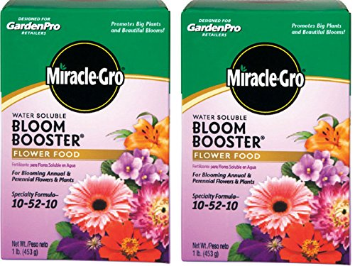 Miracle Gro Garden Pro Bloom Booster 10-52-10 1 Lb. (2)