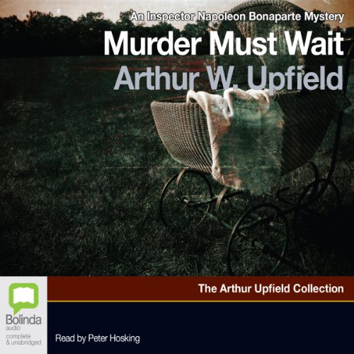 Murder Must Wait audiobook cover art