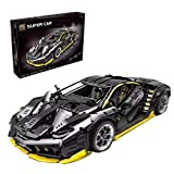 VIPO Technik Bausteine Auto für Lamborghini Racing Sportwagen, 3823 Teile Kompatibel mit Lego Technic