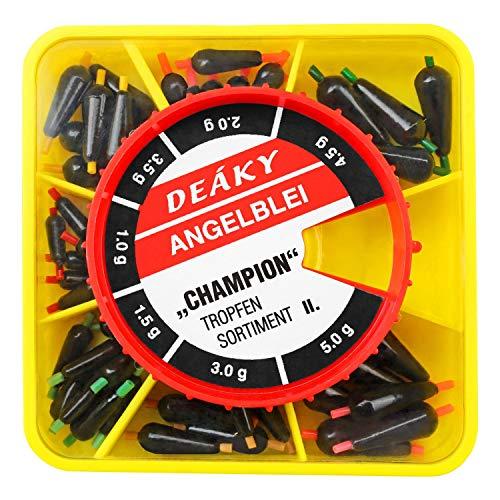 Angel DomäneTropfenblei Sortiment Champion II 50 Stück 1-5g