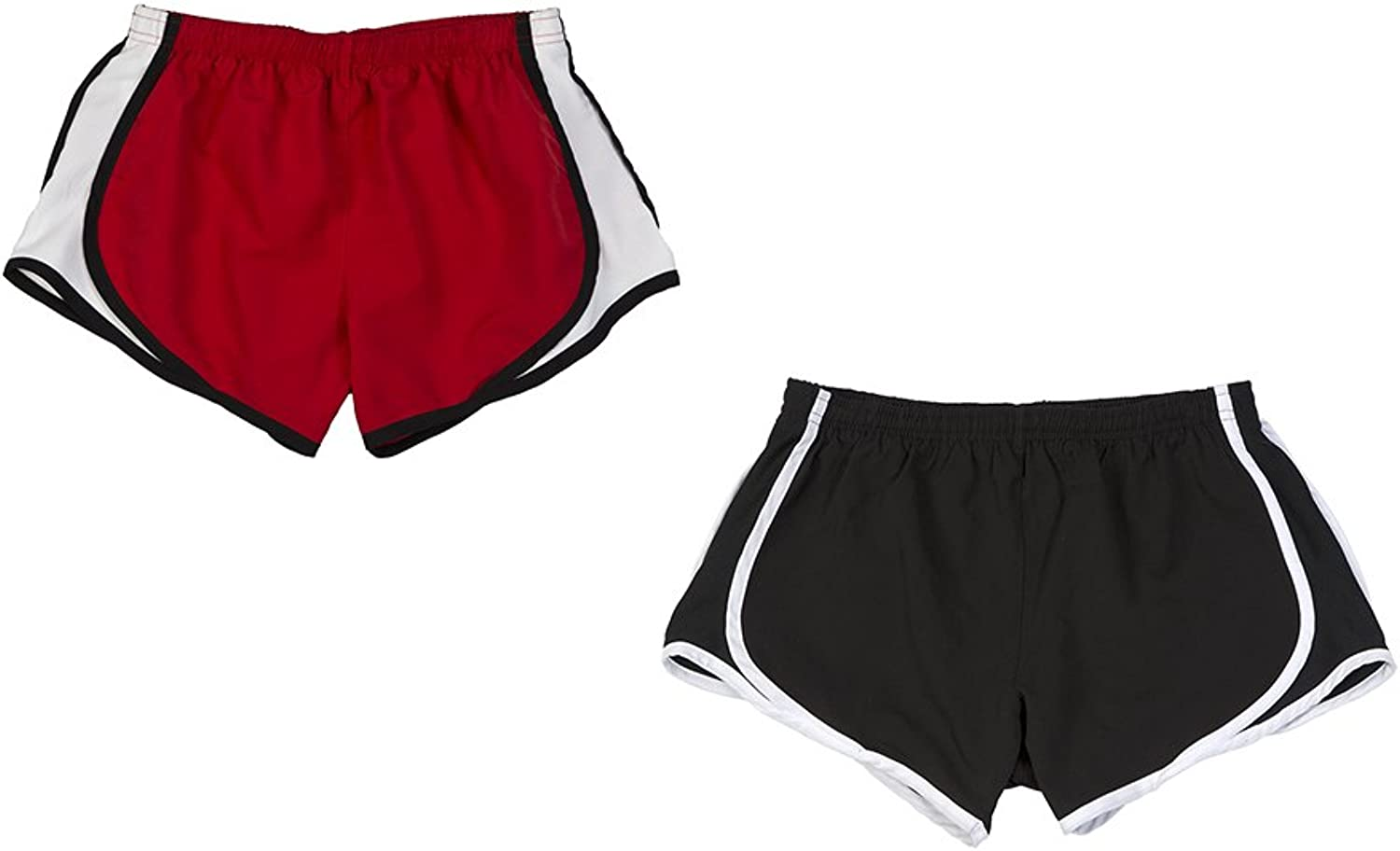 Boxercraft Women's Velocity Short 2pack Set, XL, Black Red