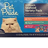 Pet Pride Seafood Variety Pack Cat Food Pouches 36 oz (Single box)