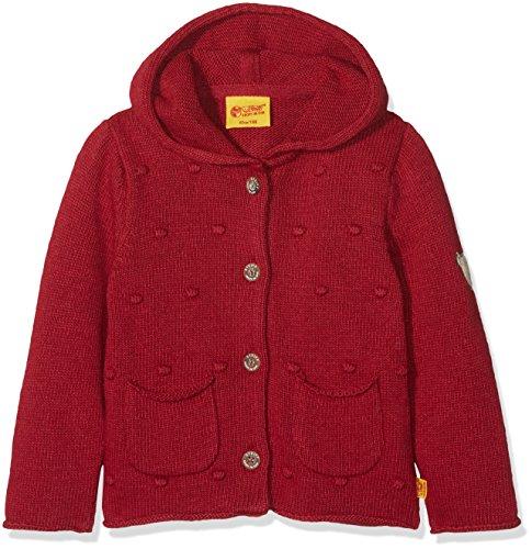 Steiff Baby-Mädchen 1/1 Arm Strickjacke, Rot (Jester red 2120), 80