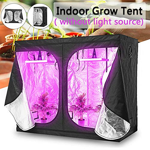 GJR-Zhiwushengzhang 1000W LED Grow Light Hydroponic Veg Flower Plant + Indoor Hydro Grow Tent Kit