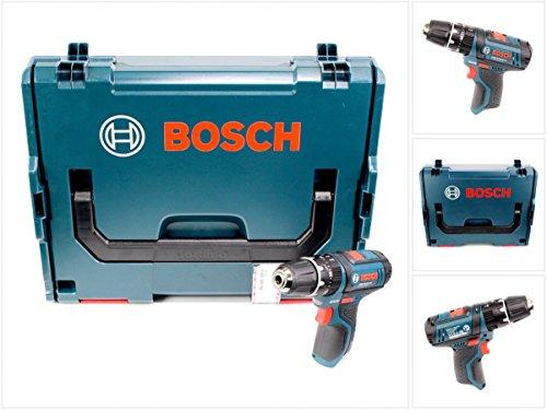 Bosch GSB 06019B690E - Taladro atornillador inalámbrico (batería de litio de 10,8 V, en caja L-Boxx)