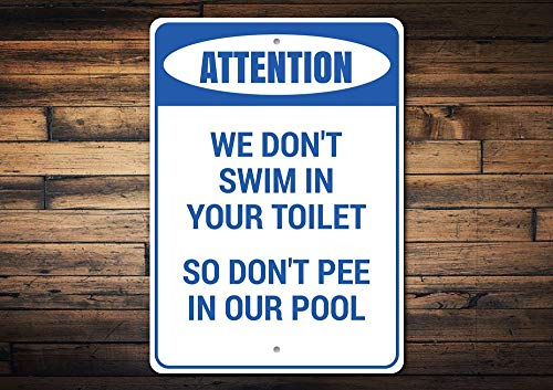 Warnschild Dont Pee