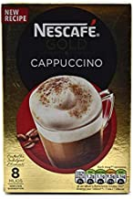 Original Nescafe Gold Cappuccino Coffee Sachets Imported From The UK England Instant Coffee Ground Roasted Coffee Beans With Milk Sugar British Frothy Coffee 'NESCAFÉ Gold Cappuccino Coffee 17