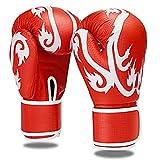 JYMYGS Guantes de Boxeo Hombres Mujeres, MMA Gloves Guantes UFC Guantes de Boxeo para Niños Acolchado Saco de Boxeo Guantes para Kickboxing, Sparring, Muay Thai y Heavy Bag, PUY006JS