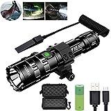 Tactical Flashlight, Wastou 1200 Lumen Super Bright Pocket-Sized 5 Modes Outdoor Hunting LED