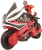 Power Rangers Samurai - Figura de disco (10 cm), color rojo
