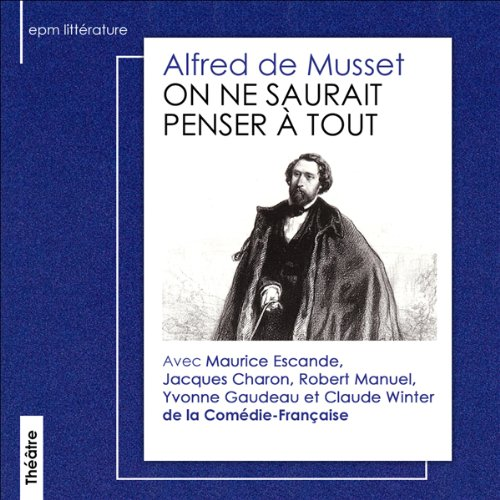 On ne saurait penser à tout  audiobook cover art
