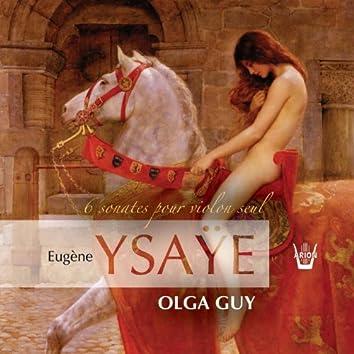 Ysaye : 6 sonates pour violon
