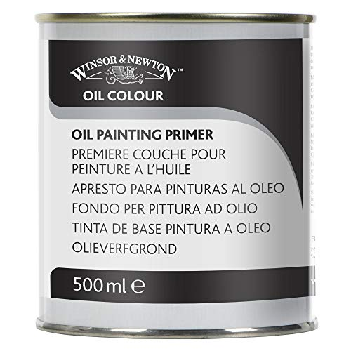 Winsor & Newton Oil Painting Primer, 500ml
