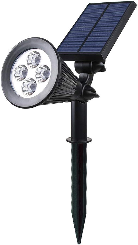 LED Solar Solarleuchten 2W, Outdoor Wandleuchte, 6 LED Helle Garten-Licht, Wasserdicht IP44,Sicherheitsbeleuchtung, Groes Auenlicht Für Garten (2 Stücke)