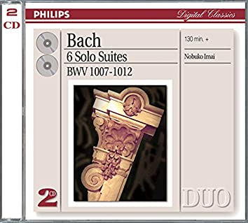 Bach, J.S.: Six Suites for Unaccompanied Cello (Transcribed For Viola)