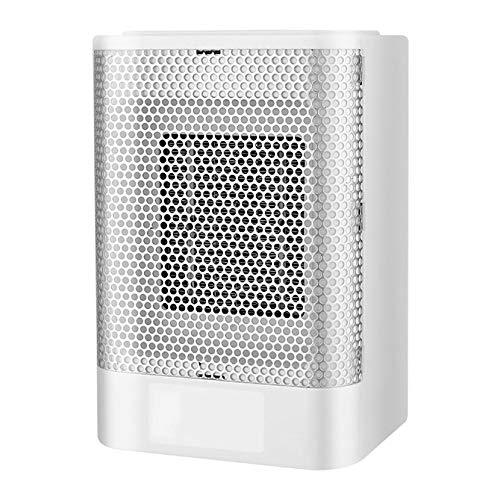 YANGBSH 700w Heaters Electric Fan Electric Heater Portable Electric Mini Fan Space Heater Winter Heater Home Office Desk Winter Bathroom Heating,White
