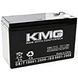 KMG 12 Volts 7.2Ah Replacement Battery Compatible with Tripplite BP240V10RT3U
