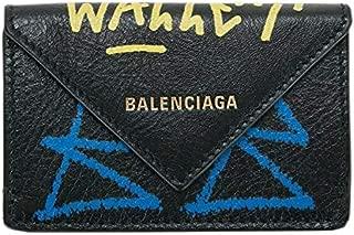 バレンシアガ BALENCIAGA レディース 財布 ミニ財布 三つ折り GRAFFITI 3914460FE0T1060