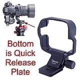 iShoot リング式三脚座、ニコンマイクロレンズ Nikon PC-E Micro NIKKOR 85mm f/2.8D Tilt-Shiftのために特別に設計、レンズサポート襟、三脚マウントリング、 46mm クイックリリースプレート付き、 ARCA-SWISS、PMG、WIMBERLEY タイプの雲台/三脚ボールヘッド を対応