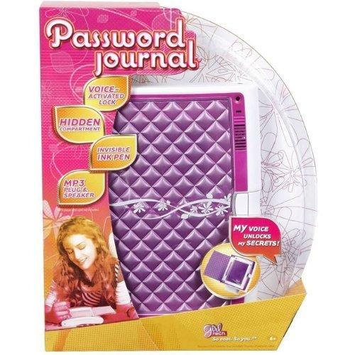Girl Tech Password Journal - Purple by Girl Tech