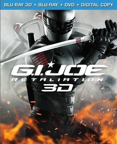 G.I. Joe: Retaliation (Blu-ray 3D / Blu-ray / DVD / Digital Copy +UltraViolet)