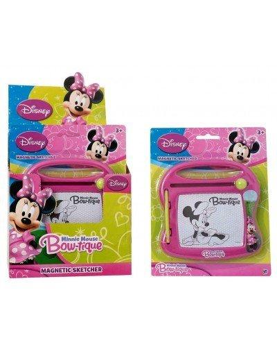 Holland Plastics Original Brand Disneys Minnie Mouse Mini Reisen Magnetic Sketcher- nutzen Immer und Immer Wieder!