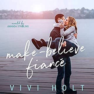 Make-Believe Fiancé audiobook cover art