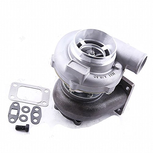 GOWE Turbocharger for GT30 GT3037 GT3076 T3 Flange 3.0L-5.0L 0.82 Water Turbo Turbocharger 6 8 cyl A/R .60 anti-surge universal T3 Flange Gasket