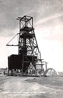Largest Cornish Pump in the World Iron Mountain, Michigan postcard